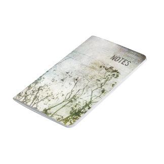 Journal abstrait Painterly de poche d'arbres