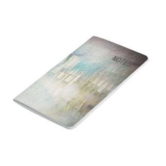 Journal abstrait Painterly de poche de paysage