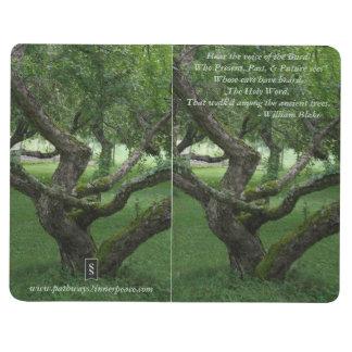 Journal antique de poche d'arbre