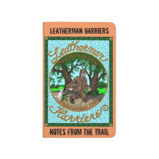 Journal de poche de harriers de Leatherman