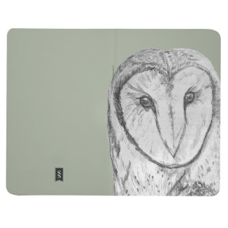 Journal de poche de hibou de grange