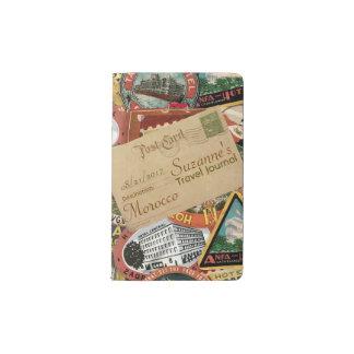 Journal de voyage de carte postale