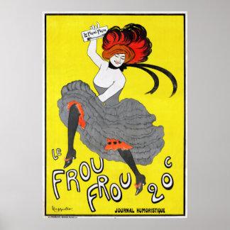 Journal Humoristique de Le Frou Frou Affiche