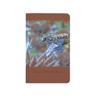 Journal Painterly de poche d'abeille de Leafcutter