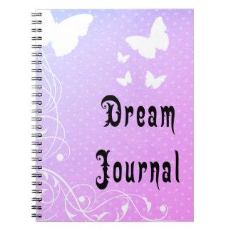 Journal rêveur de papillon