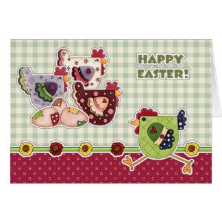 Joyeuses Pâques. Cartes de voeux de conception de