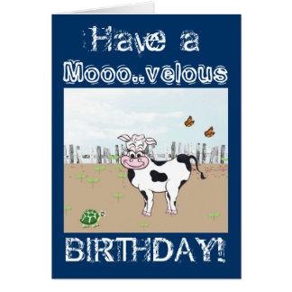 Joyeux anniversaire au MOO ! - Carte