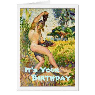 Joyeux anniversaire carte