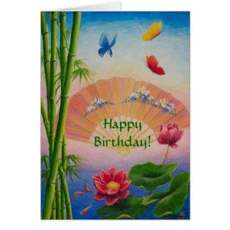 Joyeux anniversaire ! carte de vœux