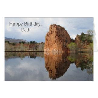Joyeux anniversaire, carte de voeux de modèle de
