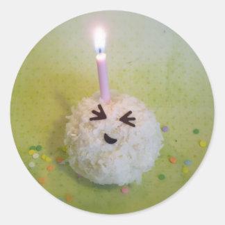 Joyeux anniversaire Onigiri - autocollants