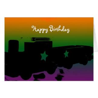 Joyeux anniversaire pour des enfants carte de vœux