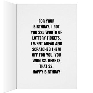 Joyeux anniversaire POUR VOTRE ANNIVERSAIRE, JE Carte De Vœux