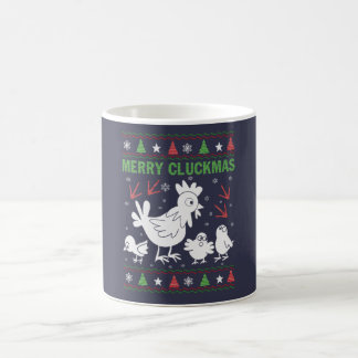 Joyeux Cluckmas Mug