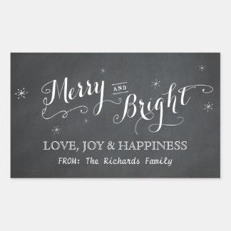 Joyeux et lumineux - autocollants de tableau