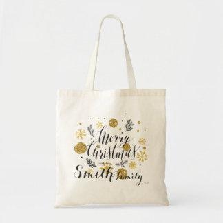 Joyeux Noël. Avec amour Tote Bag