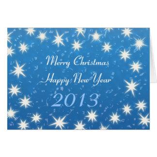 Joyeux Noël ! Bonne année 2013 Carte