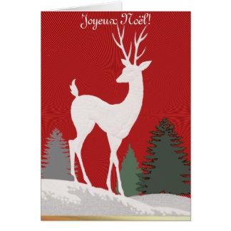 Joyeux Noël ! Carte De Vœux