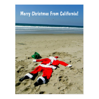 Joyeux Noël de carte postale de la Californie !