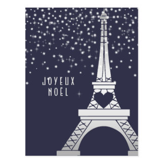 Joyeux Noël de Joyeux Noel | de Paris en hiver Carte Postale