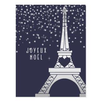 Joyeux Noël de Joyeux Noel | de Paris en hiver Cartes Postales