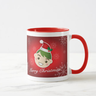 Joyeux Noël d'Elf Mug