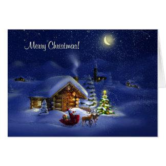 Joyeux Noël et bonne année ! Carte De Vœux