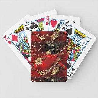Joyeux Noël et une bonne année Jeux De Cartes