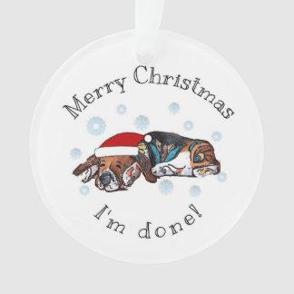 Joyeux Noël, je suis fait !