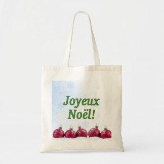 Joyeux Noël ! Joyeux Noël dans le gf français Sac En Toile Budget