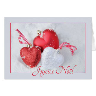 Joyeux Noël - Noël français - Carte de Noël