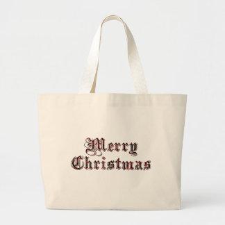 Joyeux Noël Sac En Toile Jumbo