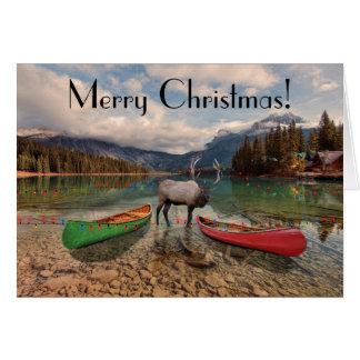 Joyeux Noël - salutations de Colombie-Britannique Carte