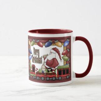 Joyeux train de Noël Mug