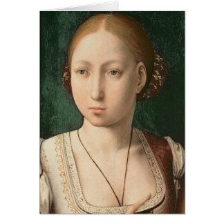 Juana ou Joanna de Castille Carte De Vœux
