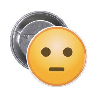 Jugement d'Emoji Badge Rond 5 Cm
