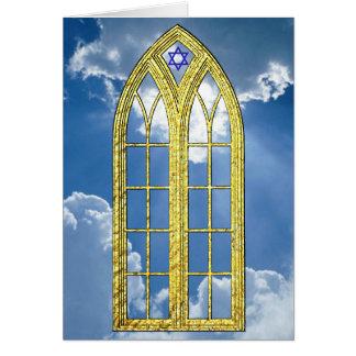 Juifs inspirés personnalisent carte