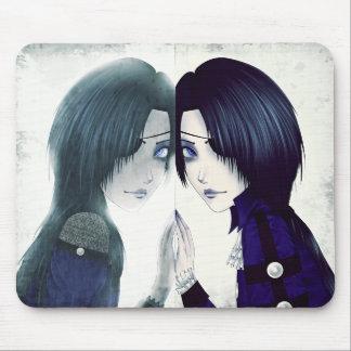 Jumeau de fantôme de Goth Tapis De Souris