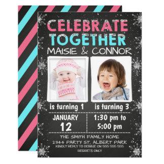 Jumeaux ou invitation commune d'anniversaire