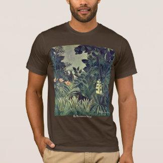 Jungle sur l'équateur par Rousseau Henri T-shirt