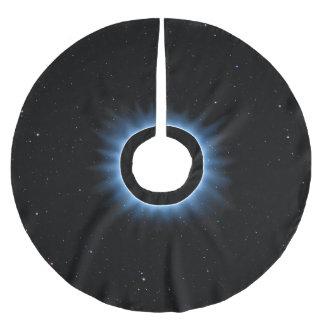Jupon De Sapin En Polyester Brossé Jupe d'arbre d'éclipse solaire