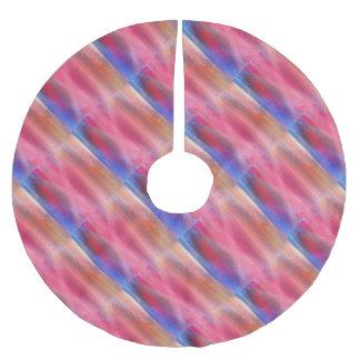 Jupon De Sapin En Polyester Brossé Peintures abstraites