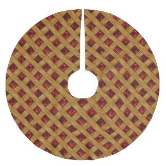 Jupon De Sapin En Polyester Brossé Tarte aux cerises, cerises rouges, dessert, tarte,