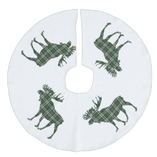 Jupon De Sapin Imitation Lin Orignaux bretons de tartan de cap de Noël de jupe