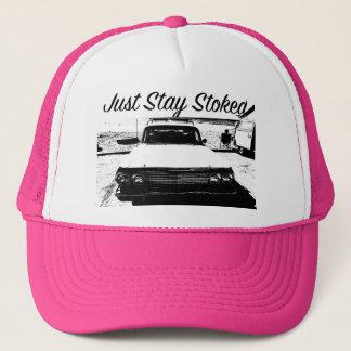 Juste casquette classique de Cali de voiture de
