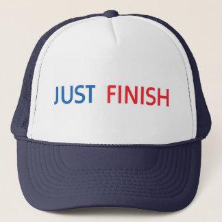 Juste casquette de camionneur de finition