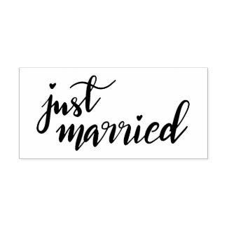 Juste manuscrit manuscrit marié moderne simple