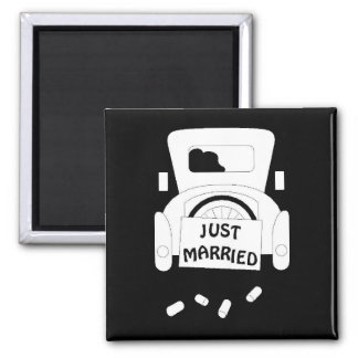 Juste Marier-car Magnets