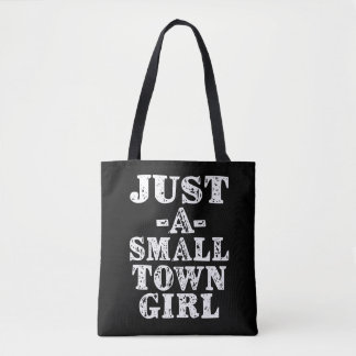 Juste un sac de fille de petite ville