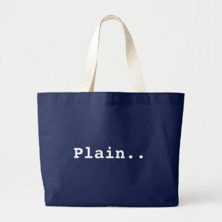 Juste un vieux sac simple.